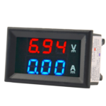 Voltimetro Amperimetro Digital Dc 100 Voltios 10 A