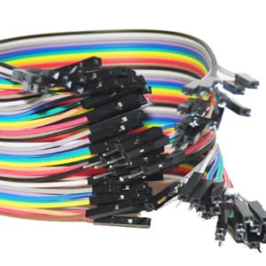 Kit de cables Jumpers 20cms Pack X40 H/M