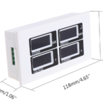 Voltiamperímetro Digital AC 80-260v 100 Amperios