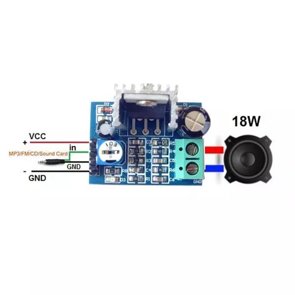 amplificador de audio tda2030a (4)