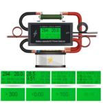 Voltiamperimetro Digital Voltimetro Amperimetro Dc 300v 100a