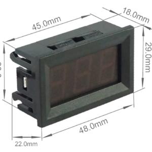 Voltimetro Digital Ac 30v-500v