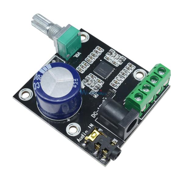 amplificador pam8610 con potenciometro (8)