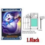 Pantalla LCD TFT IPS 1.8″ 65k Full Color | SPI