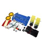 Kit Robot Seguidor De Linea Carro Robotica Kit Arduino