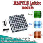 Display Matriz De Puntos Led 8×8 Controlador Max7219 Arduino