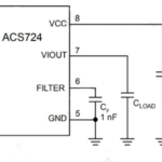 SENSOR CORRIENTE AC/DC ACS724 50A ARDUINO REMPLAZO DE ACS712