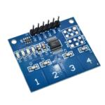 Sensor Capacitivo – Teclado Touch Táctil Capacitivo Arduino