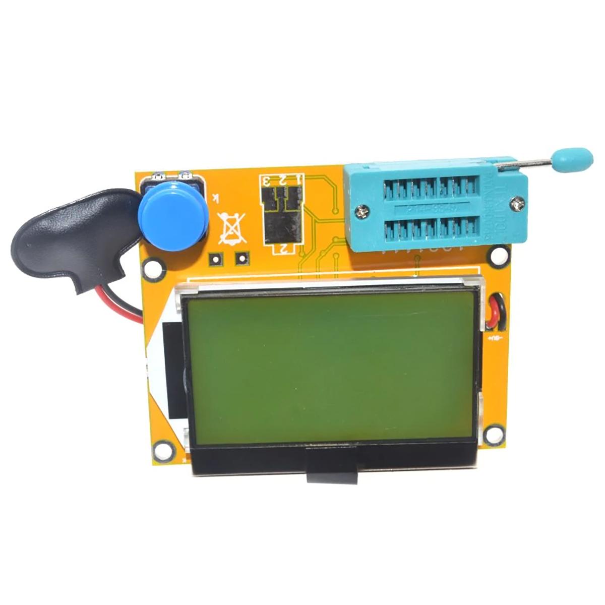eDealMax LCR-Transistor T4 probador LCD de visualizaci/ón del diodo de capacitancia Tr/íodo ESR medidor MOS PNP NPN SCR inductancia de bricolaje