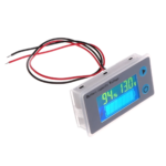 Indicador Capacidad De Carga Batería – Voltaje Porcentaje