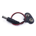 Adaptador Plug Jack Cable Conector Pila Bateria 9v Arduino