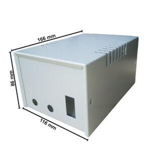 Caja Metálica Fuente Regulable – Proyecto Electrónica
