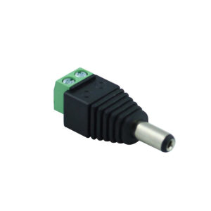 Conector Dc Con Bornera Macho Plug 2.1mm X 5.5