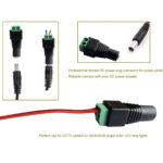 Conectores Jack Macho Hembra Par Plug 2.1mm X 5.5mm