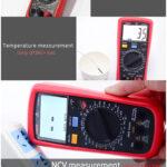Multimetro Uni-t Ut39c+ Ac Capacitancia Ncv Temperatura