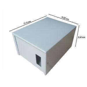 Caja Metálica 6,4X9,2X11,5 CM CP020
