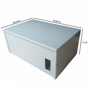 Caja Metálica 7,1X16,2X10,8 CM CP030