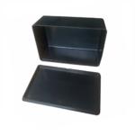 Caja Plástica Proyecto Electrónica 4,1X10X6,2 CM CP002