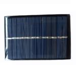 Mini Panel Solar 6V 100mA 85X58 mm