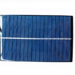 Mini Panel Solar 9V 150mA 130X82 mm