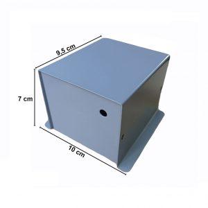 Caja Metálica 7X10X9,5 CM CP011