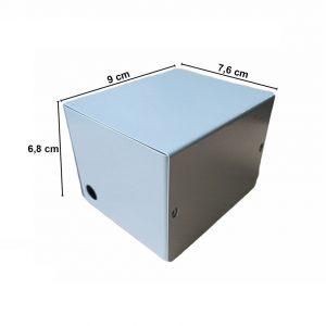 Caja Metálica 6,8X7,6X9 CM CP010