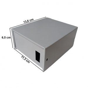 Caja Metálica 6,5X11X13,6 CM CP050