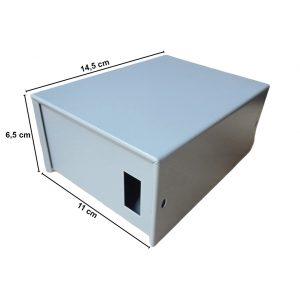 Caja Metálica 6,5X11X14,5 CM CP060