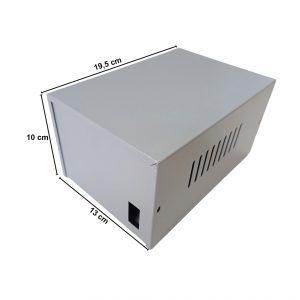 Caja Metálica 10X13X19,5 CM CP065