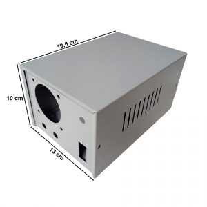 Caja Metálica 10X13X19,5 CM CP065E