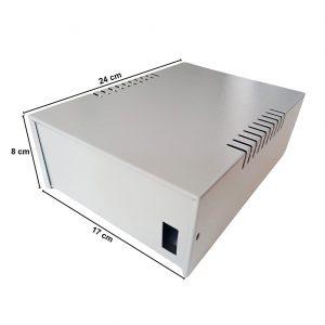 Caja Metálica 8X17X24 CM CP070
