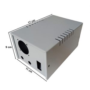 Caja Metálica 9X11X17 CM CP072E