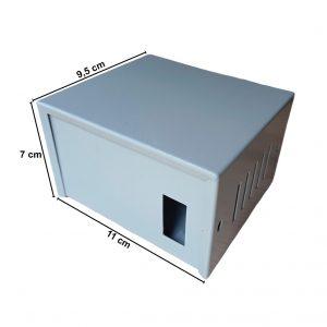 Caja Metálica 7X11X9,5 CM CP075