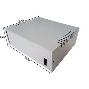 Caja Metálica 8X22X20 CM CP080