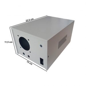 Caja Metálica 11,5X15X22,5 CM CP68E