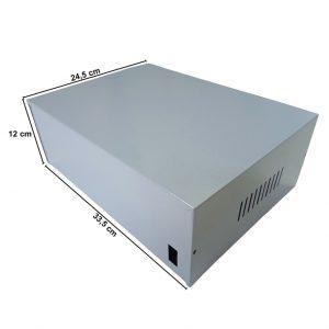 Caja Metálica 12X33,5X24,5 CM CP090