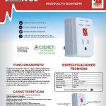 Protector Voltaje Magom Protevol Pv Slim Refri 120 V 1800w