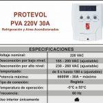 Protector Voltaje Magom Pva 220v 30a De Refrigeración Y Aire
